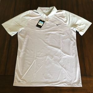 NIKE DRI-FIT TIGER WOODS TOUR COLLECTION GOLF POLO